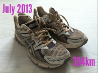 4.5 months and 394km later!