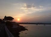 This evening's run sunset