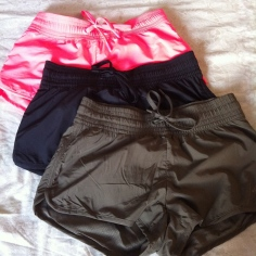 H&M running/workoutshorts