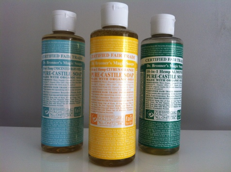 Dr Bronner's Magic Soap