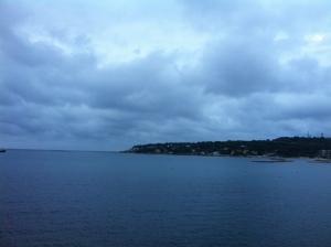Evening Walk. Cap d'Antibes