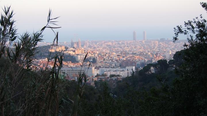 Barcelona from Parc Collserola