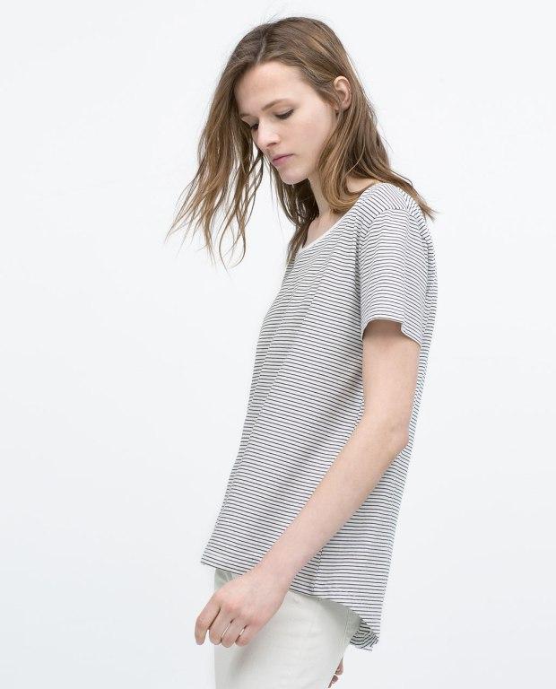 Zara stripy top