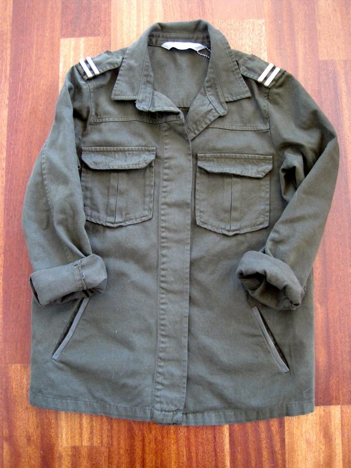 Zara, Army khaki jacket
