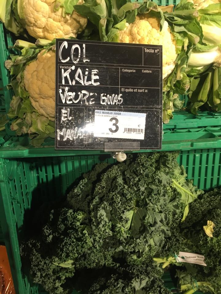 Kale Baby!