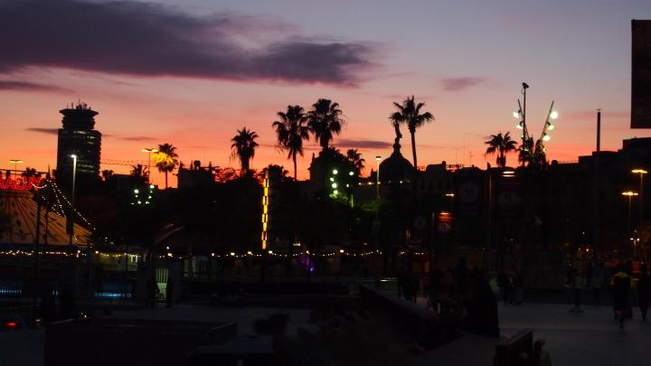 Sunset, Ciutat Vella, Barcelona, 2015