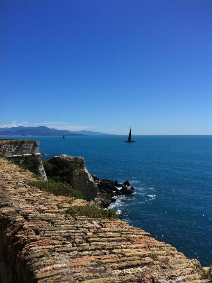 Sea Wall, Antibes