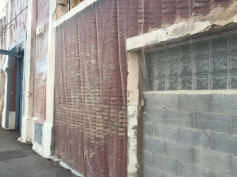 Old Port Building Wall