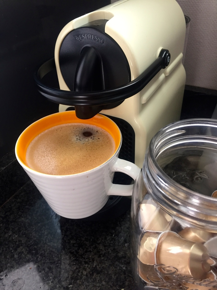 New Nespresso Machine!