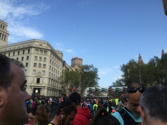 El Corte Ingles 37a Cursa 2015 start line
