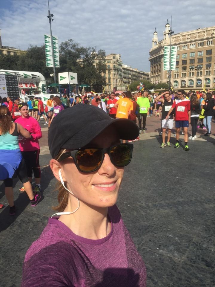 El Corte Ingles 37a Cursa 2015 finish line