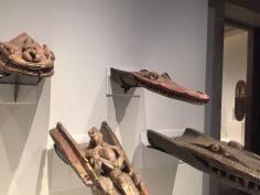 Canoe Figure heads, Museum of World Cultures Barcelona