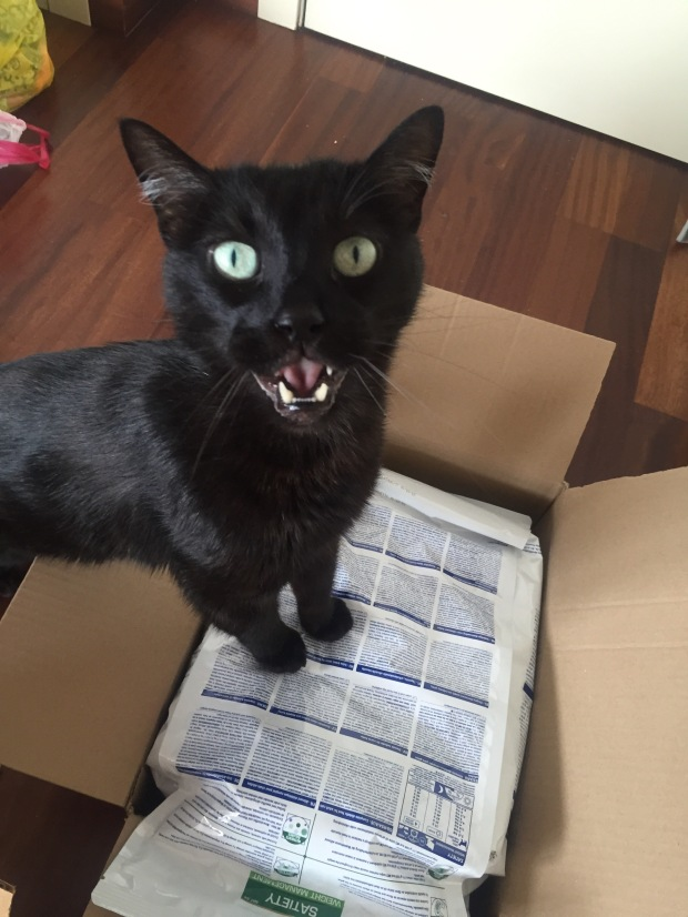 Parcel for me!