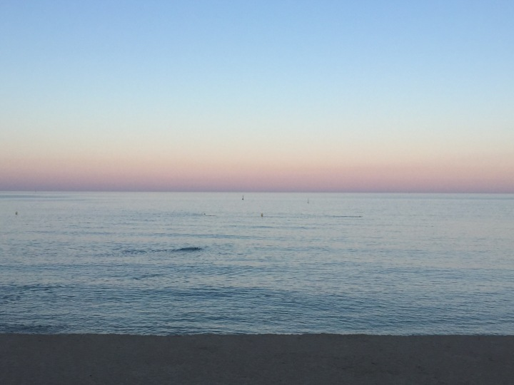 June reverse sunset
