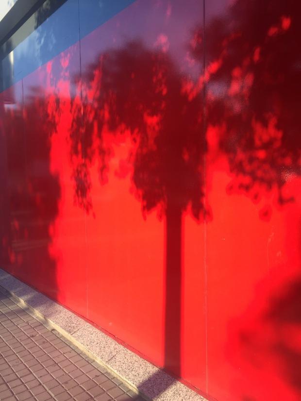 Shadow play, La Maquinista, Barcelona
