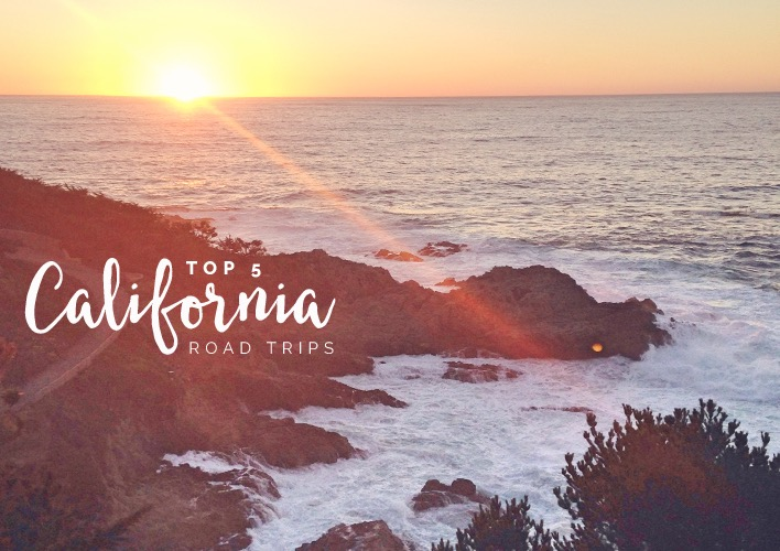 Tone It Up Top 5 California Road Trips