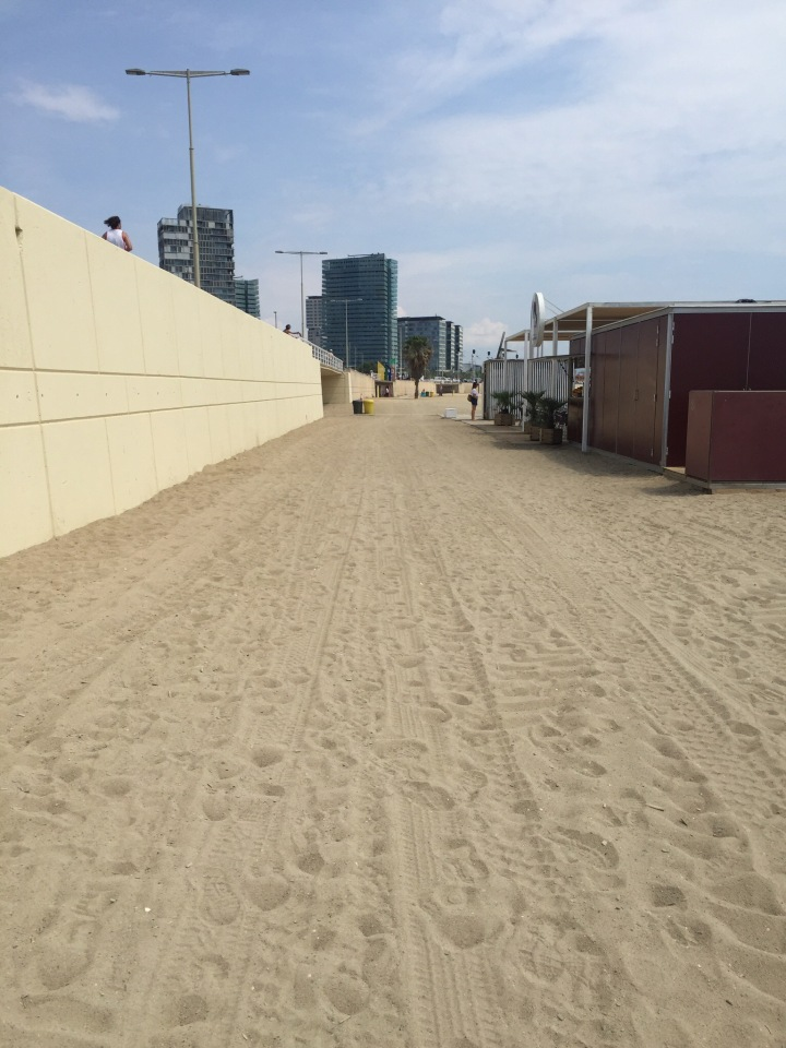 Sand Speed Work. It's not easy!