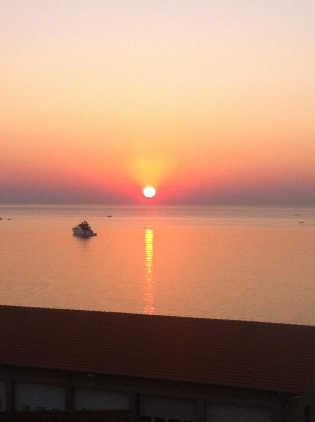 Sunrise Antibes, France