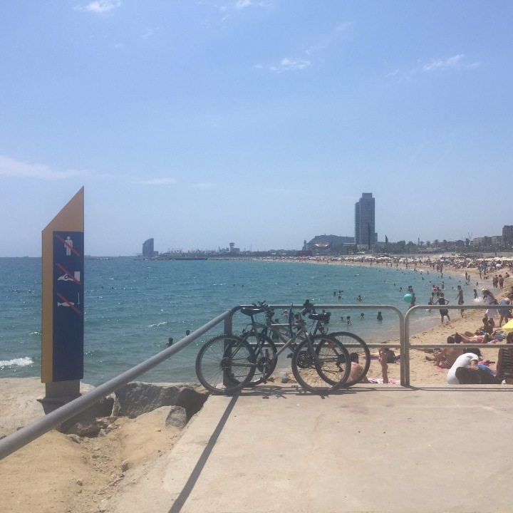 Playa Bogatell Barcelona
