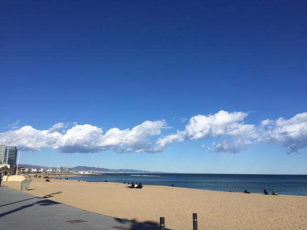 Playa Bogetell, Barcelona Winter 2015