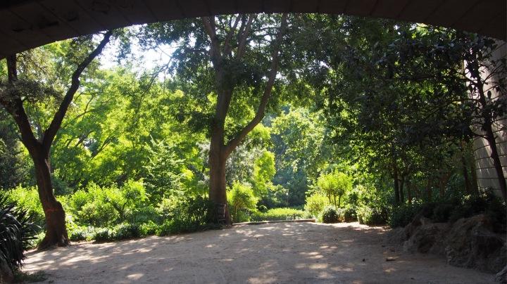 Under the Cascada, Parc de la Ciutadell
