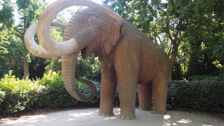 Woolly Mammoth, Parc de la Ciutadella