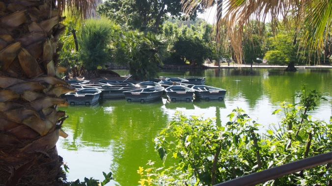 Boating lake, Parc Ciutadella