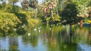 Boating lake, Parc de la Ciutadella