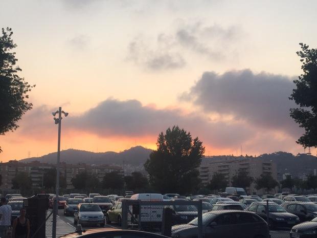 Sunset La Maquinista