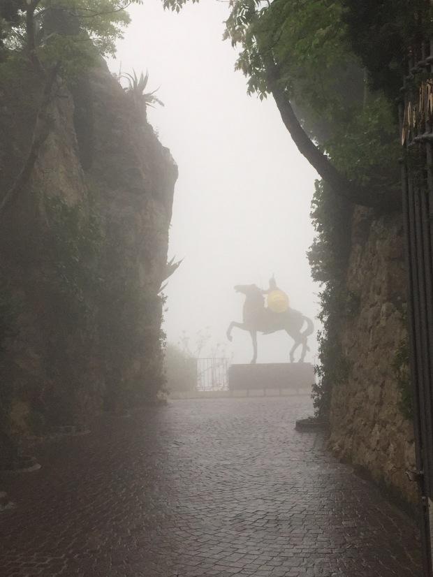 Entrance to Chateau de la Chevre d'Or, Eze