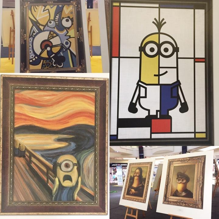 Minion Art Exhibition BCN