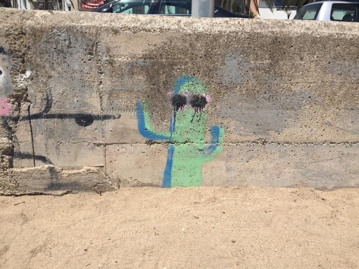 Graffiti cacti