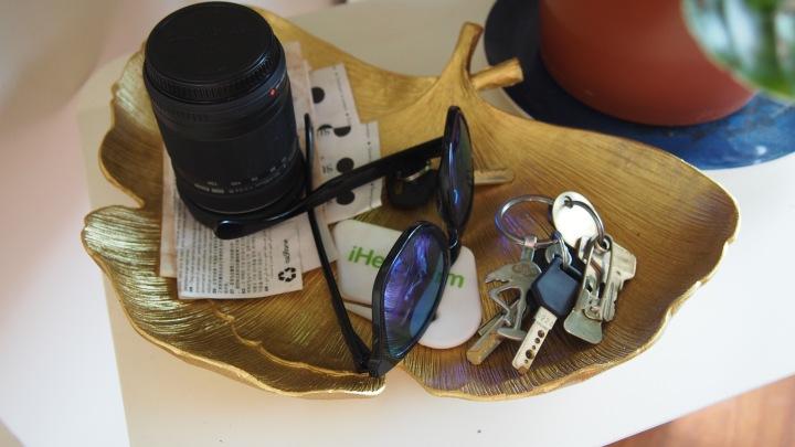 Zara Home Gold Leaf Bowl/Tray