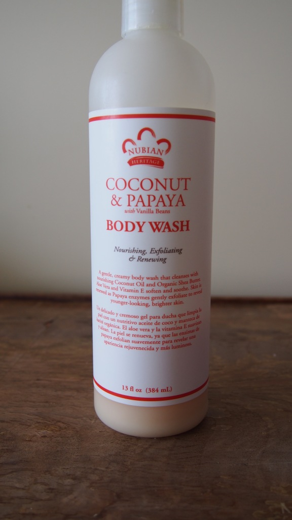 Nubian Hertiage Coconut and Papaya Body Wash