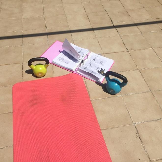 TIU roof top workout