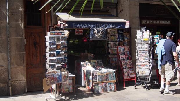 The Magazine Shop, Placeta de Montcada