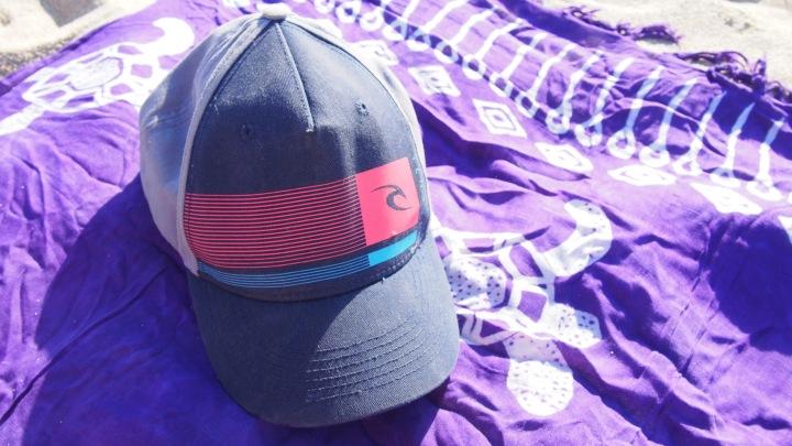 Baseball cap and sarong