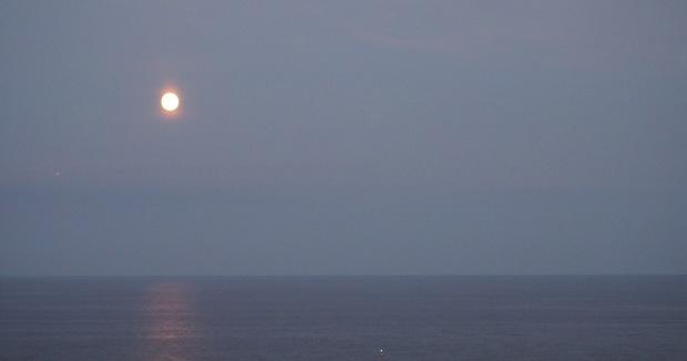 Blood Moon Moonrise 2015