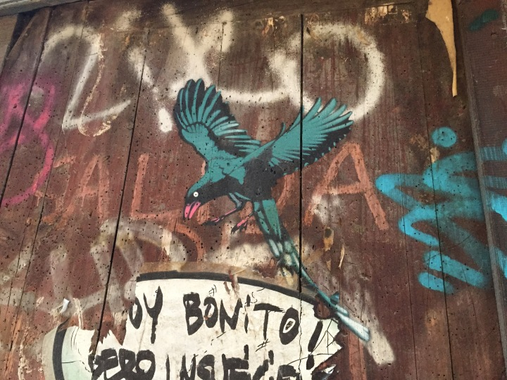 Graffiti El Borne