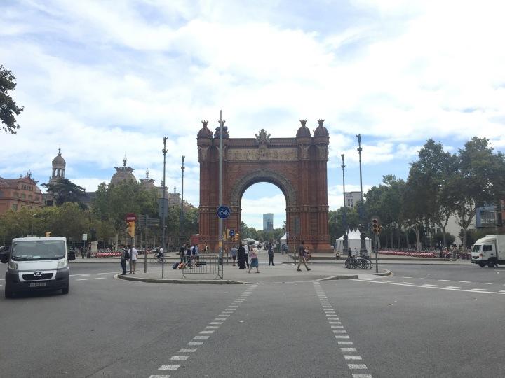 Arc de Triomf, Barcelona