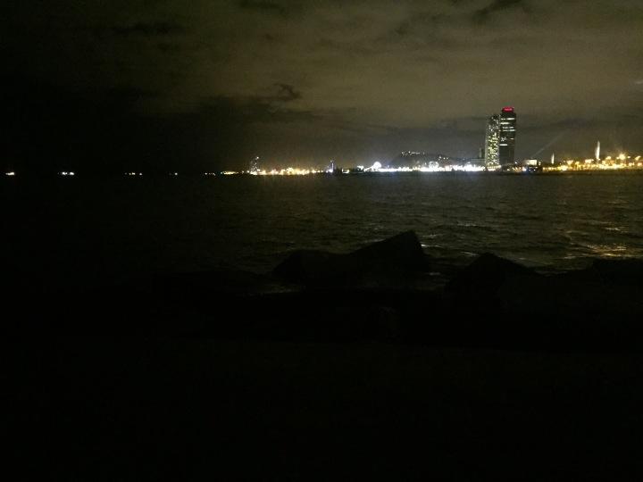 Beach night run