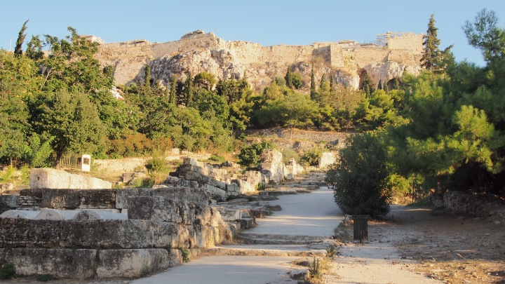 Walk up the Acropolis