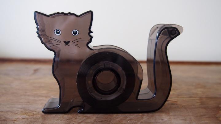 HM Black Cat Tape Dispenser