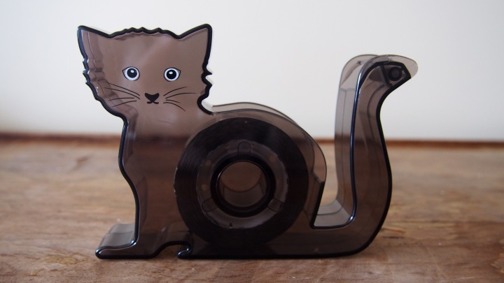 HM Black Cat Tape Dispenser