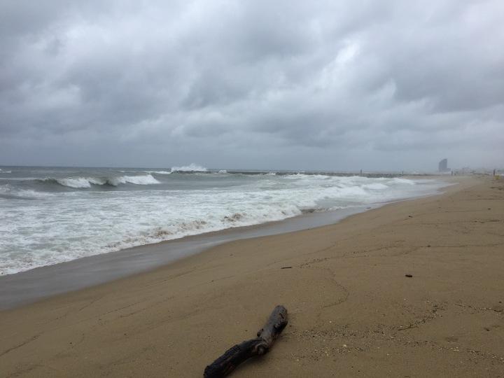 Stormy Running