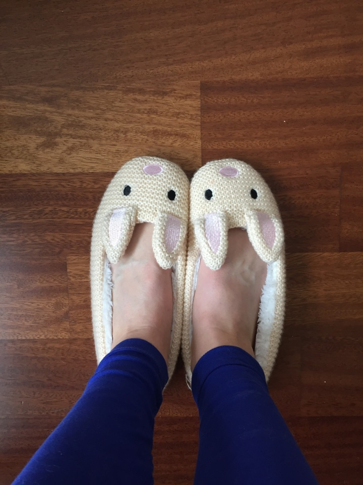 Forever21 Rabbit Slippers