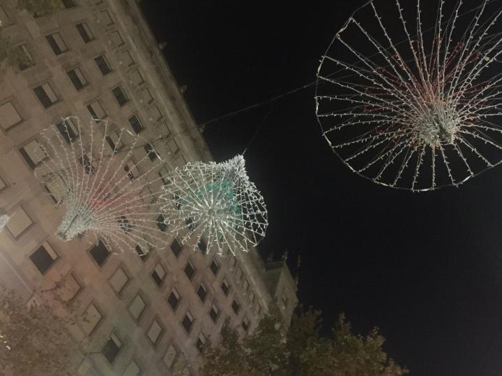Christmas's coming, Barcelona