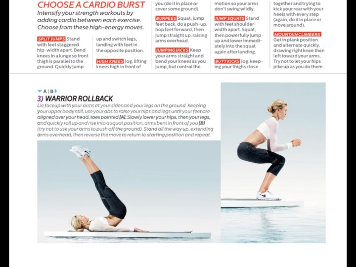 Shape Magazine Warrior Rollback