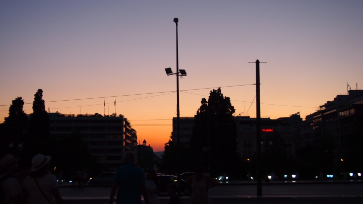 Sunset Athens