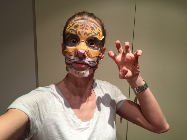 You're gonna hear me roar SNP Animal Tiger Wrinkle Sheet Mask